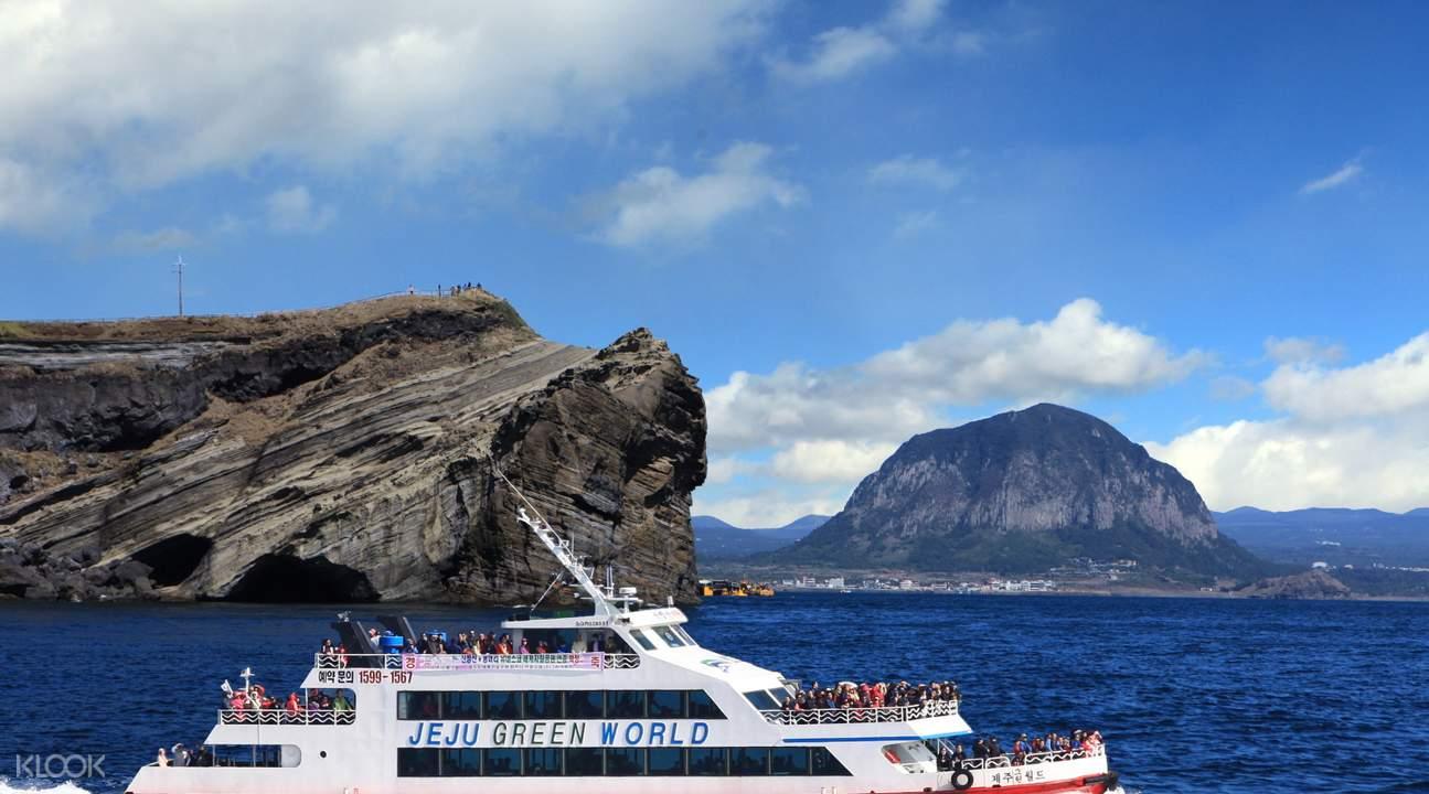 Unesco global geopark sanbangsan cruise