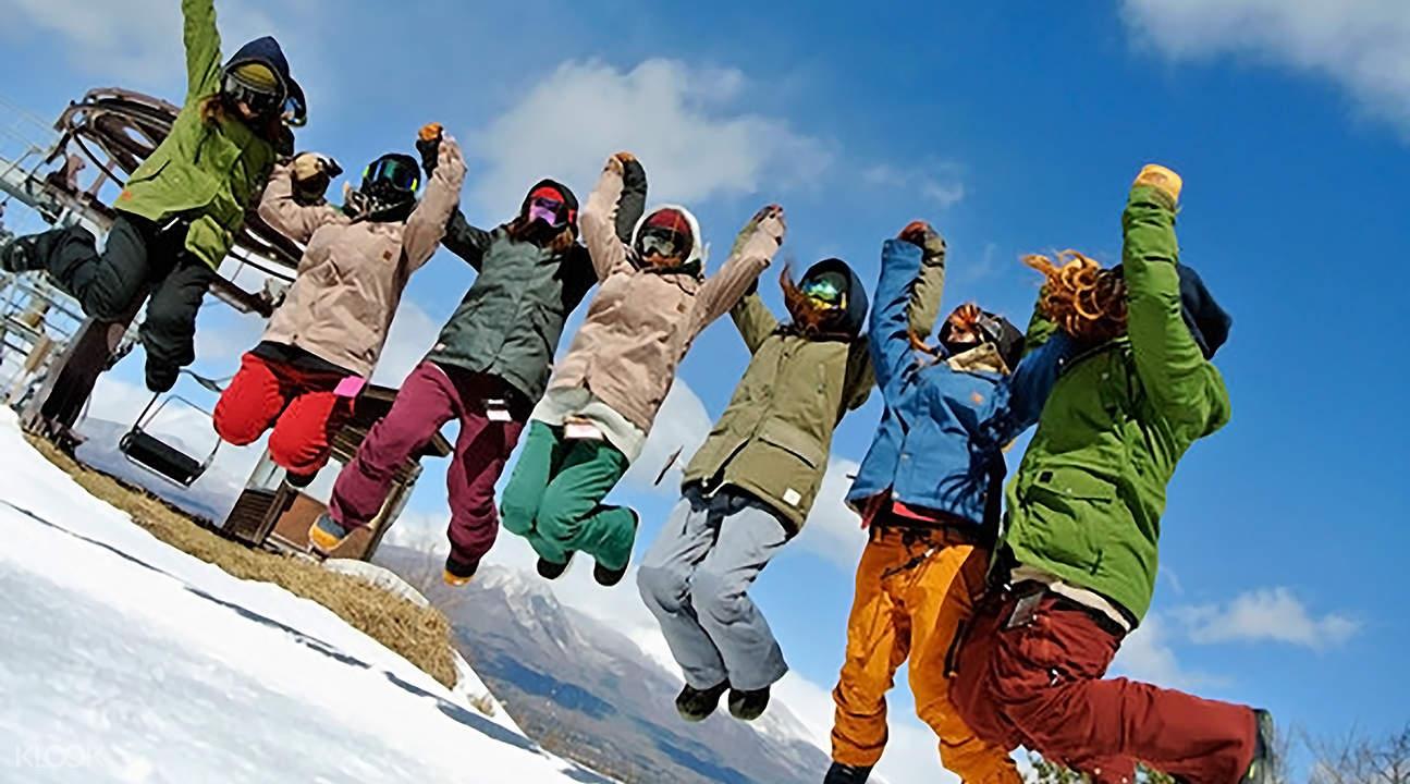冬季限定 長野佐久Ski Garden Parada滑雪場SAJ教練初級班(含往返巴士)
