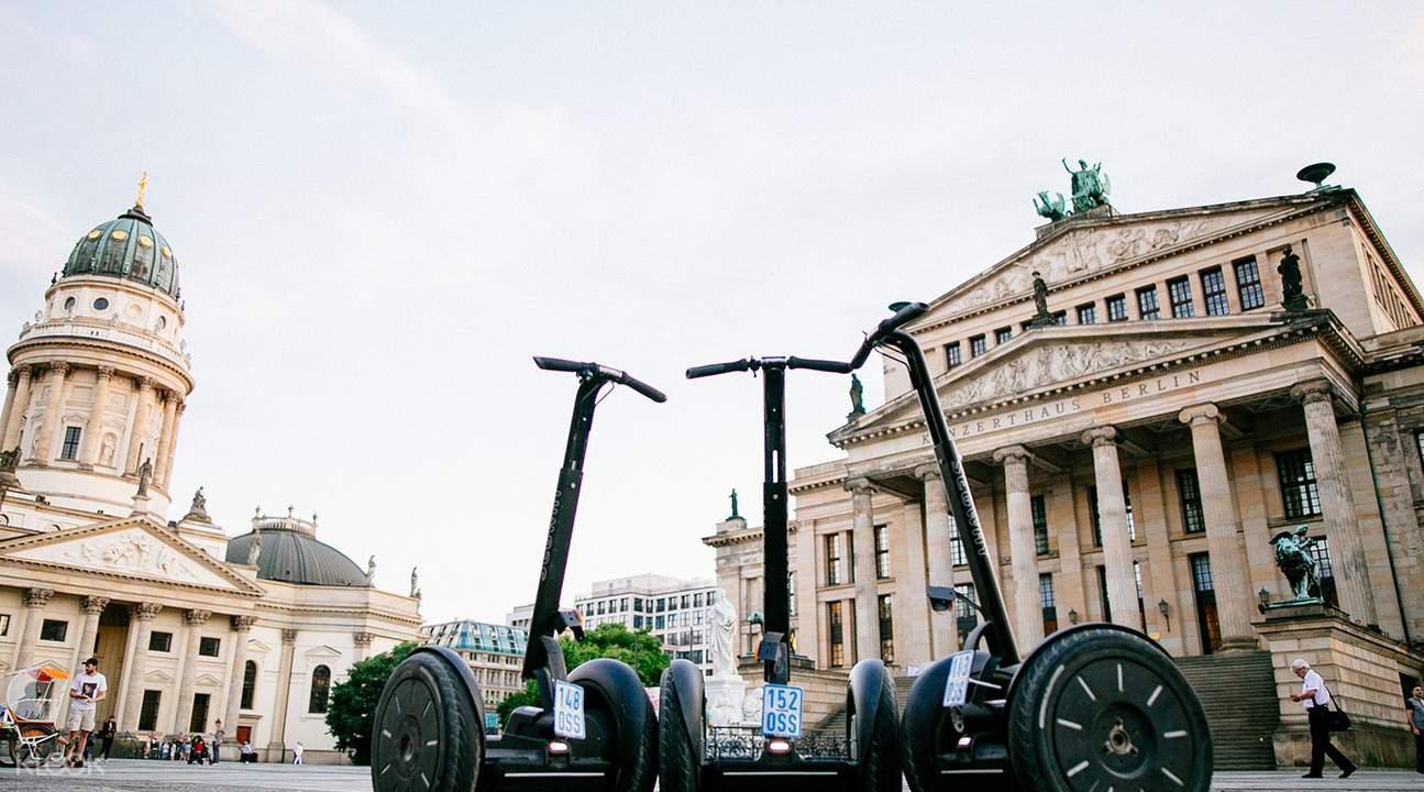 柏林电动双轮车夜间导览