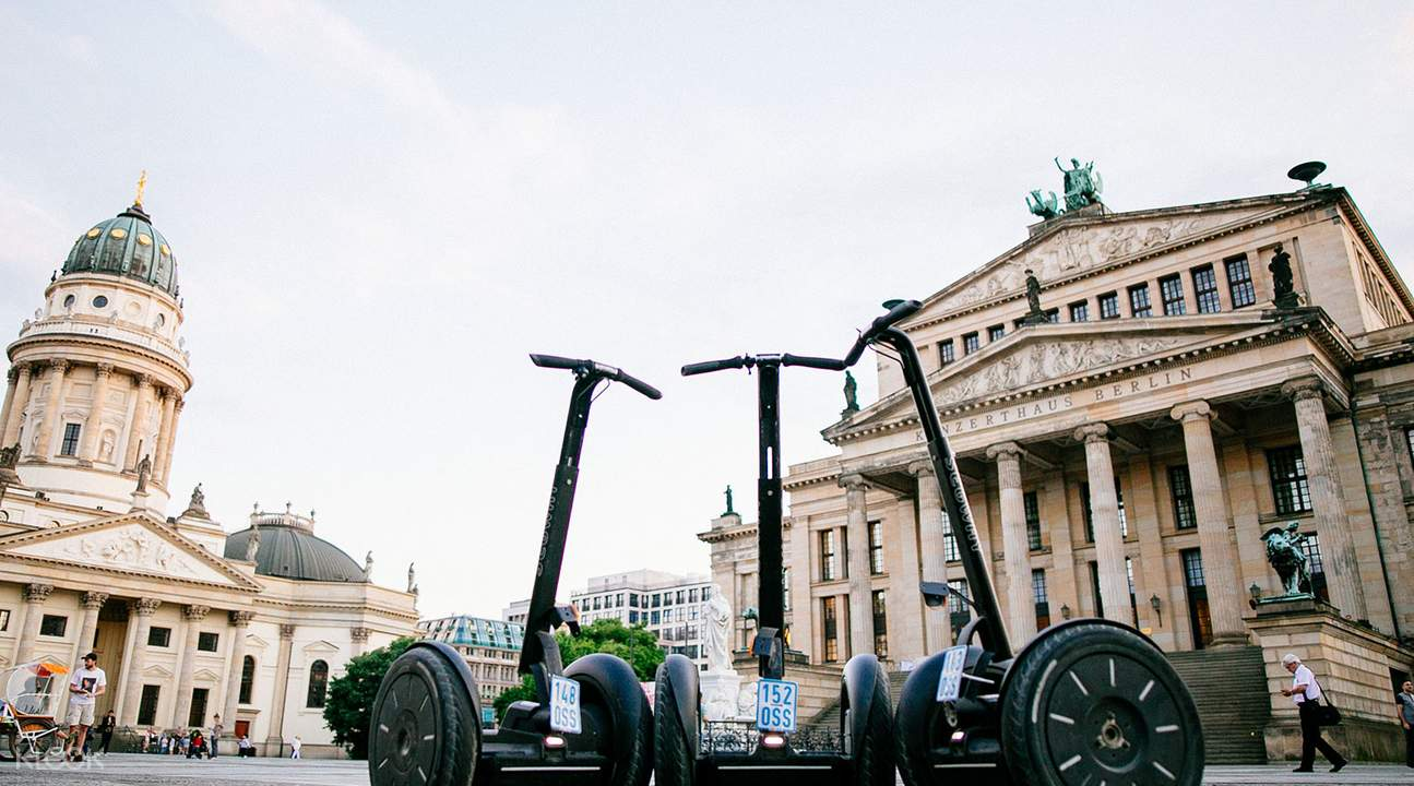 柏林電動雙輪車夜間導覽