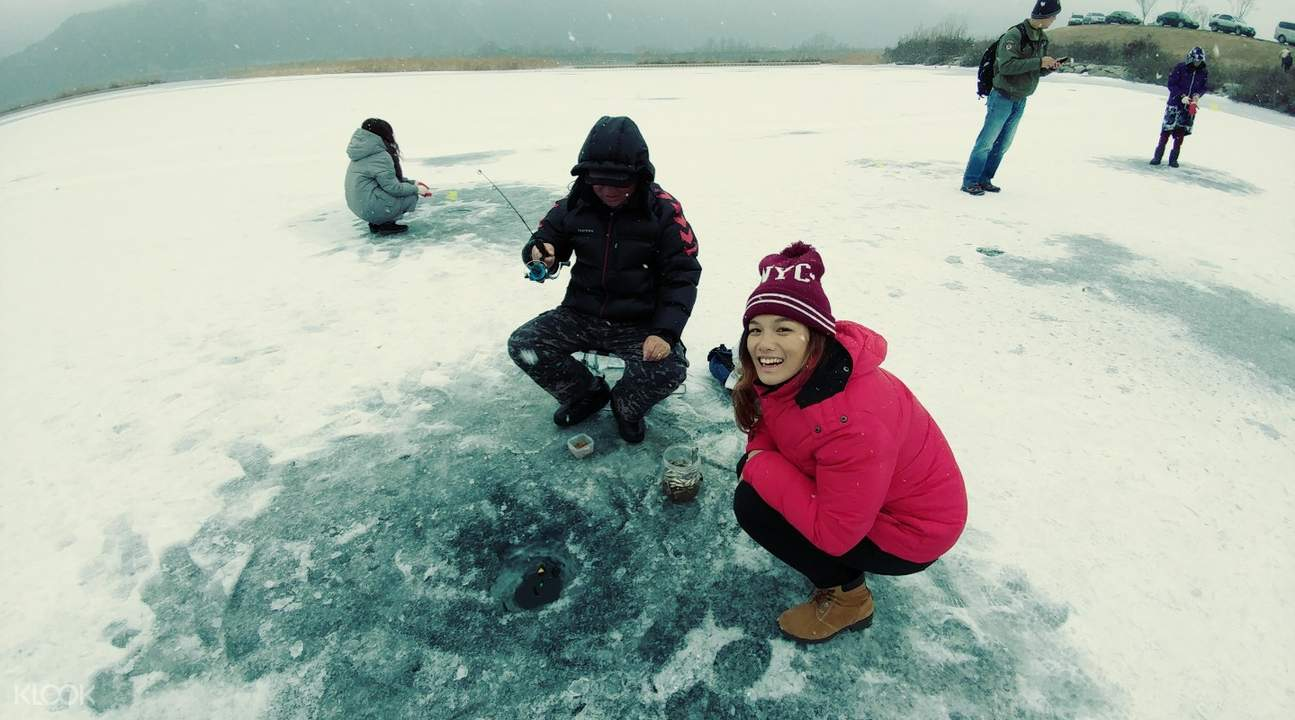 chuncheon ice fishing south korea