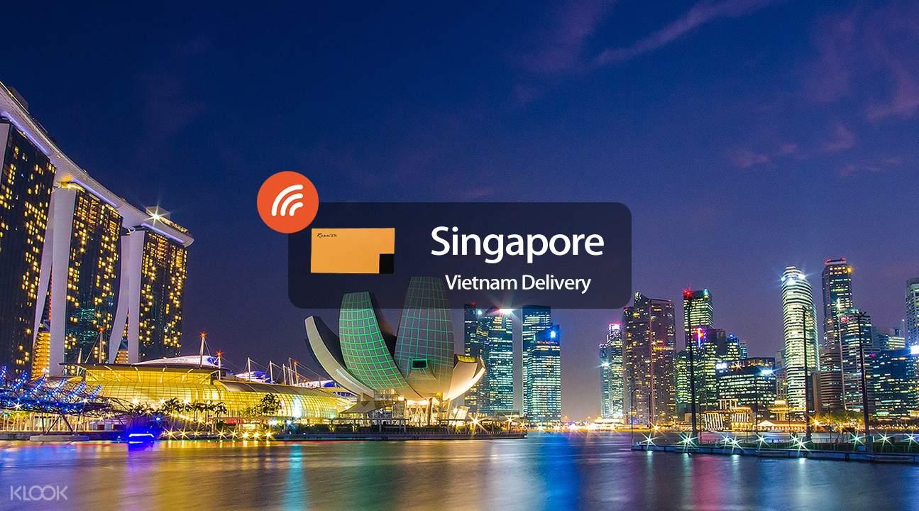 4g wifi vietnam delivery thailand singapore
