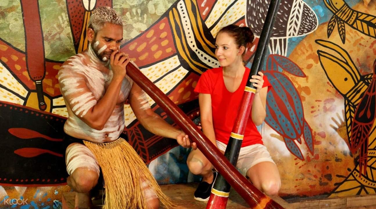 澳洲土著民俗體驗