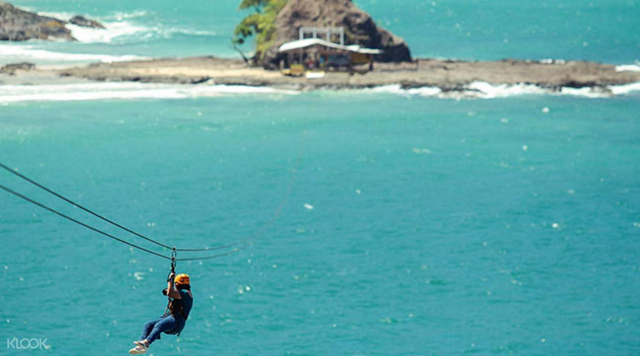 菲律宾沙邦高空飞索滑行