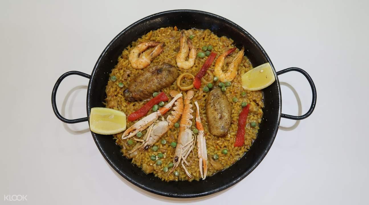 seafood and chicken paella lb superpollo hac sa wan macau