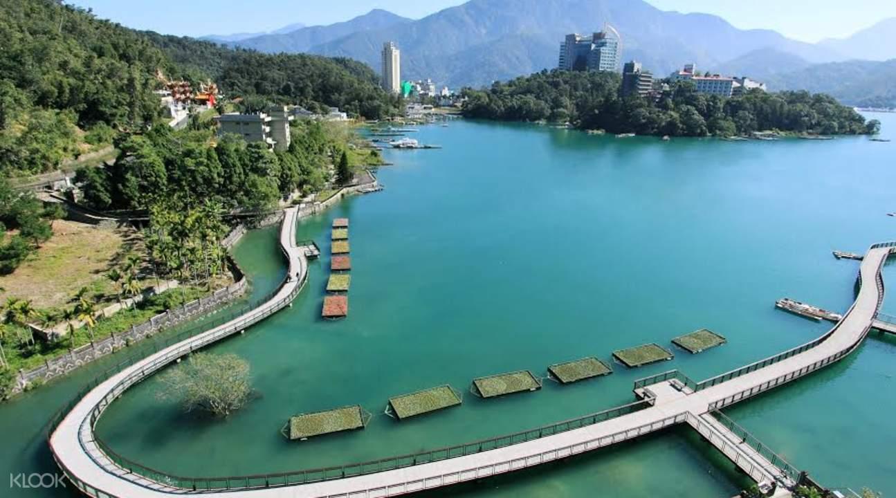 包车游览 中部台湾热门景点一日游
