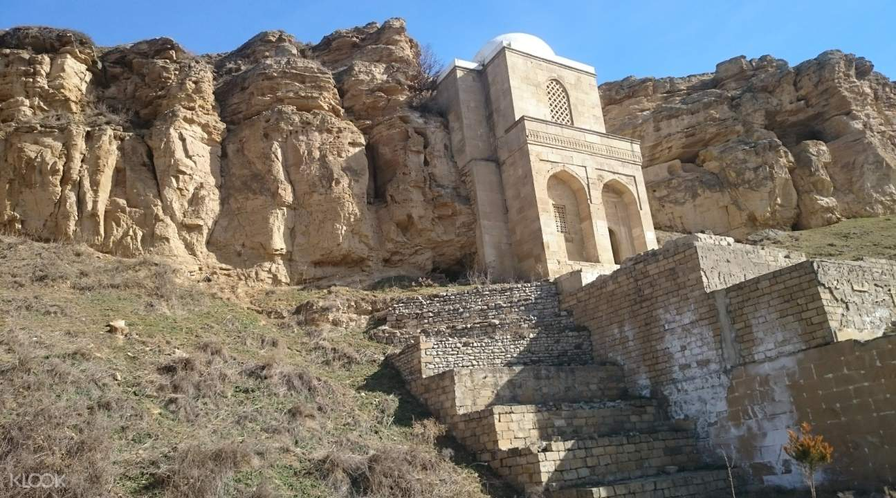 a stone structure in Shamakhi