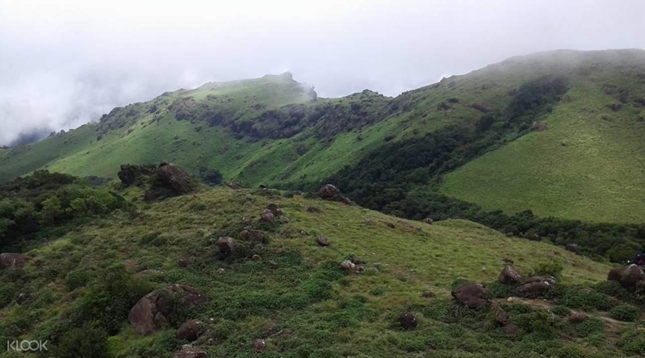 Tadiyandamol山頂