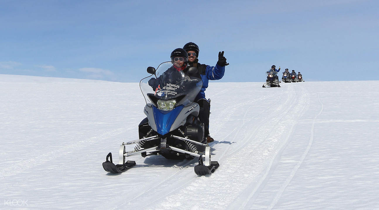 黃金圈雪地摩托體驗