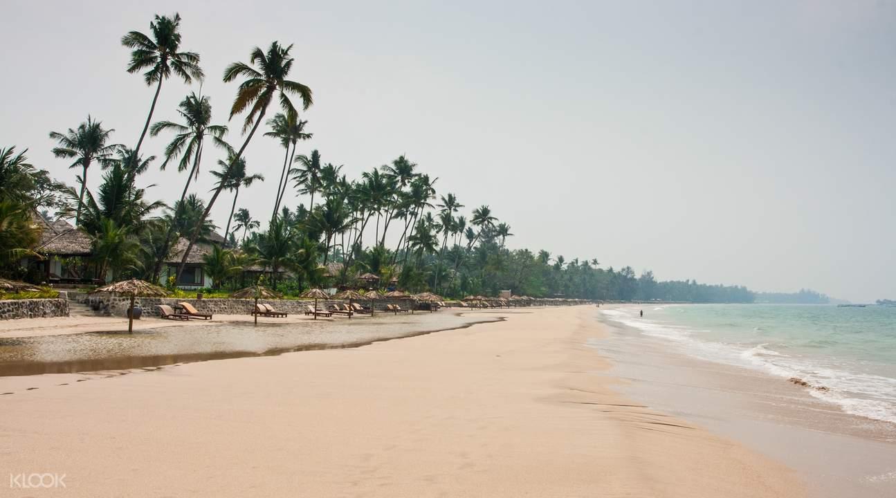 缅甸额布里海滩