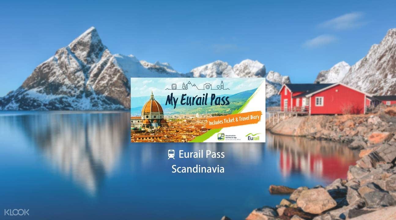 Eurail Pass for Scandinavia (3, 4, 5, 6 or 8 Days)