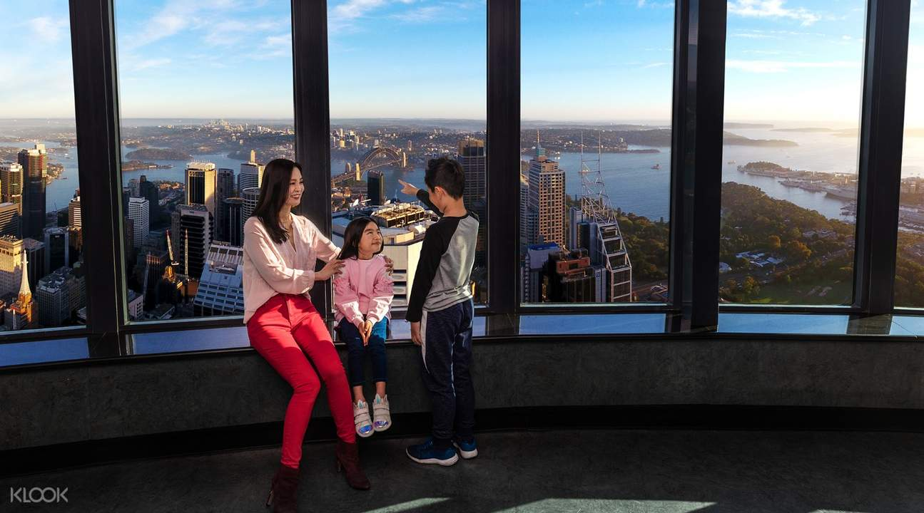 blue mountains sydney tower eye