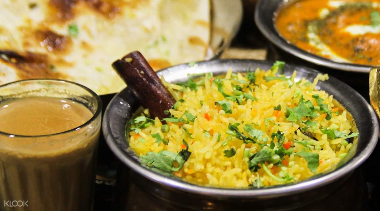 saffron rice Khantha's Kitchen