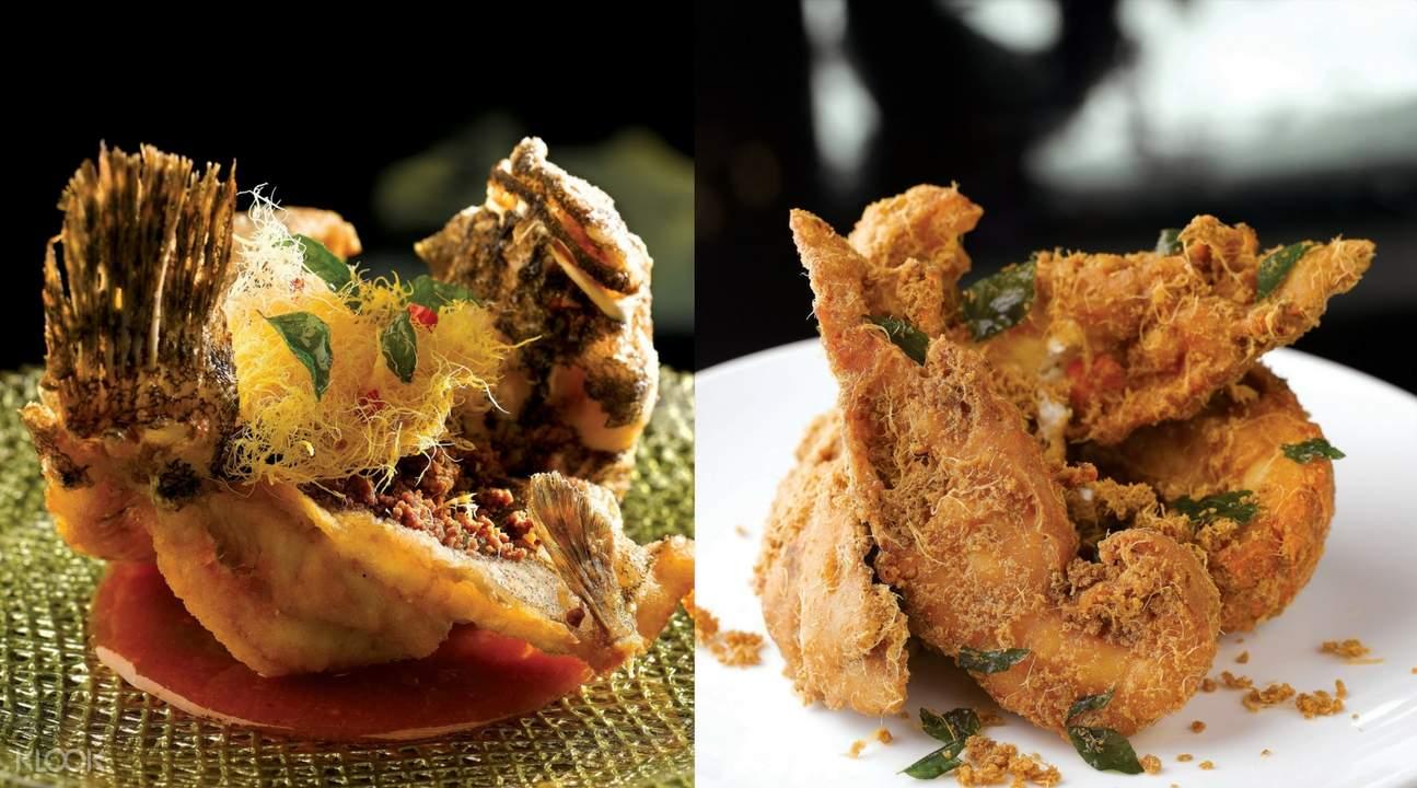 新加坡無招牌海鮮餐廳