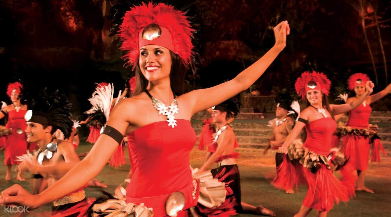 玻里尼西亞文化舞蹈表演