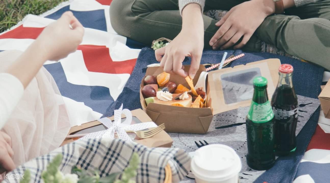 莺歌陶瓷博物馆野餐
