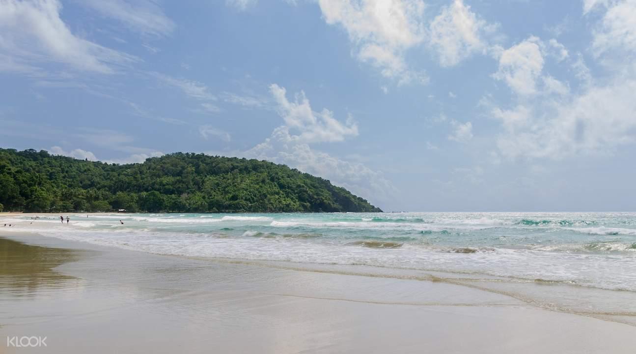 Nagtabon Beach or Talaudyong Beach Private Car Charter for