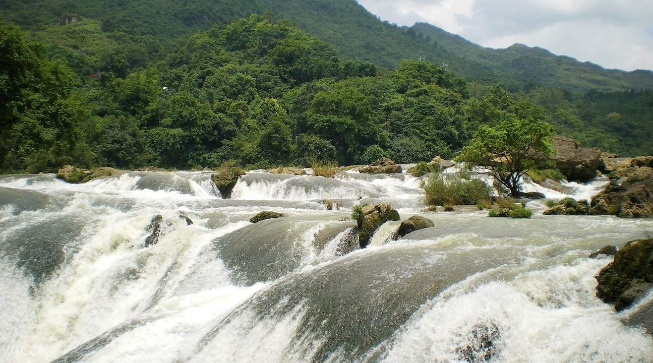 huangguoshu waterfall guizhou admission