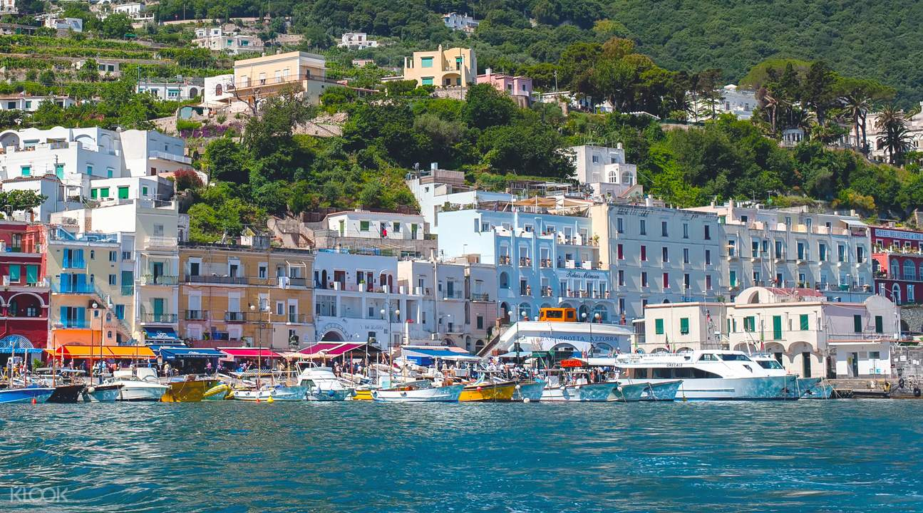 Island of Capri excursion from Rome