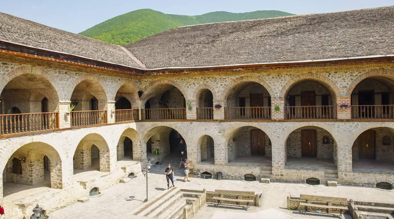 a Shaki villa