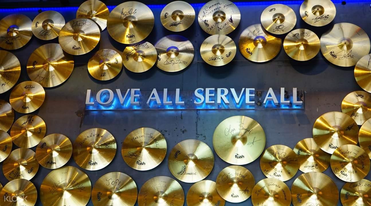 芝加哥Hard Rock Cafe硬石摇滚主题餐厅餐券