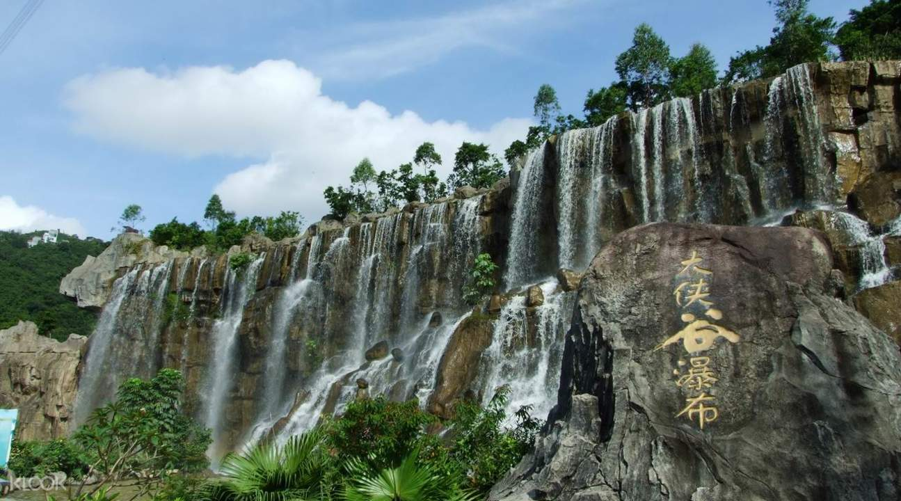 overseas chinese town east theme park