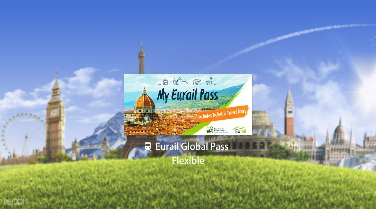 Eurail Global Pass (Flexible 5, 7, 10 or 15 Days)