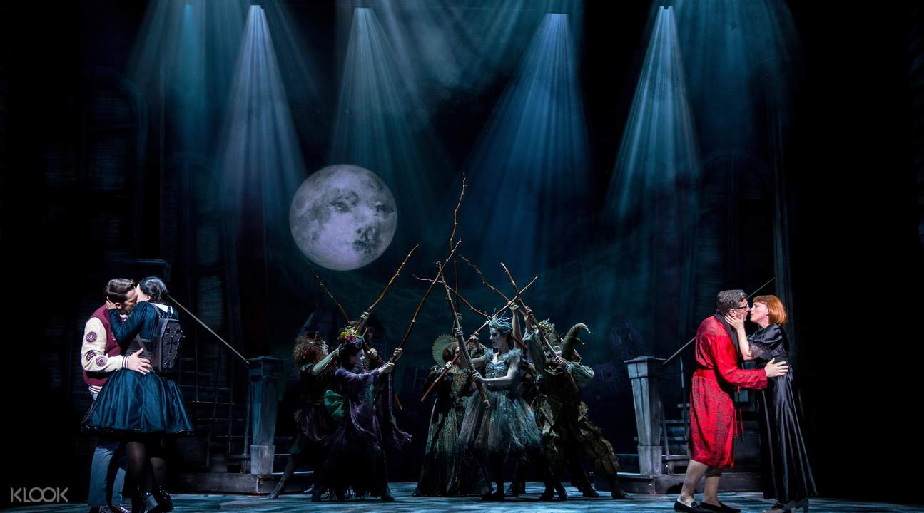 百老彙音樂劇 - 「亞當斯一家」門票