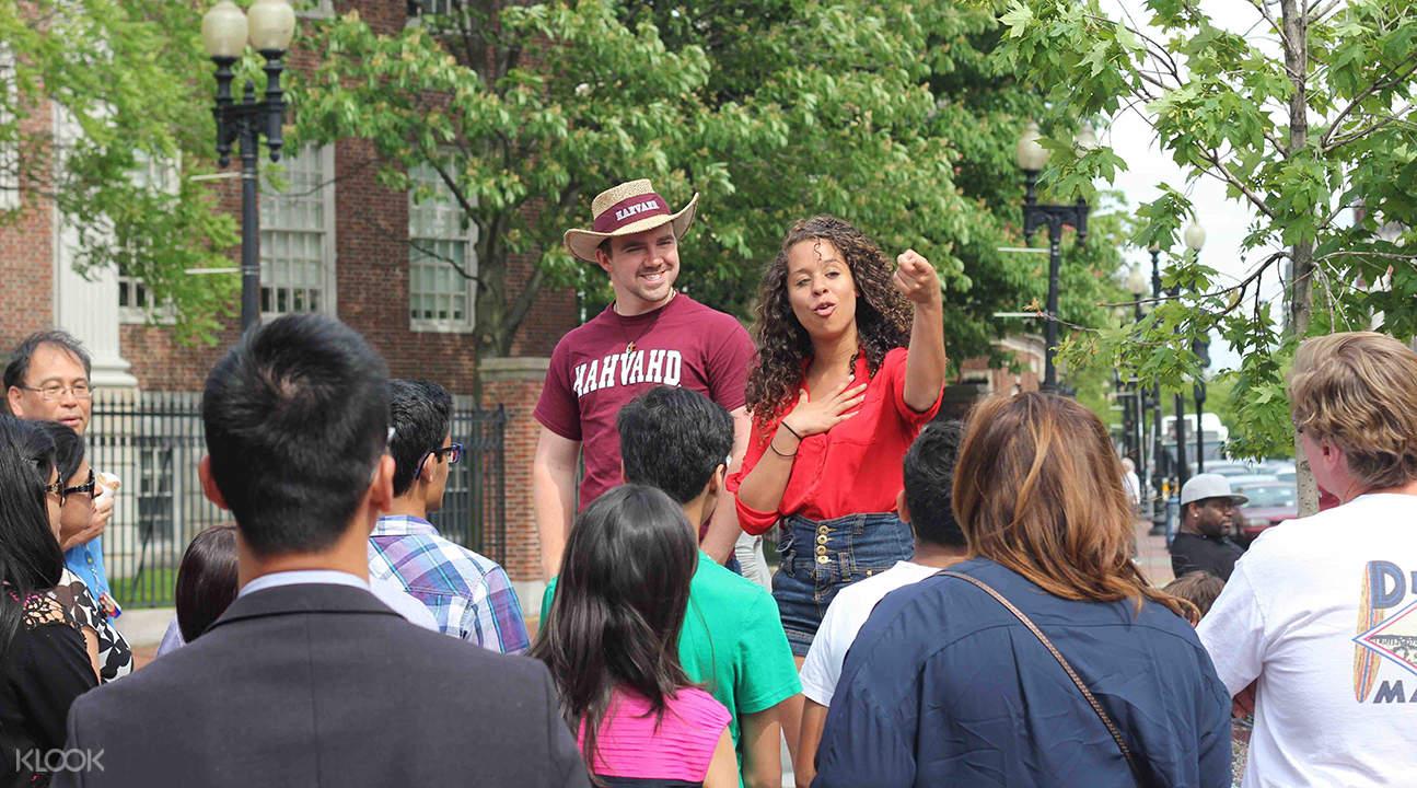 Harvard university campus tour