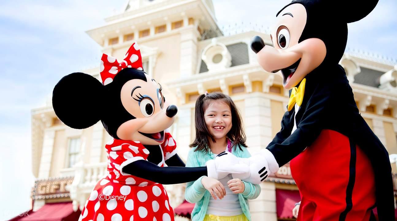 Disney's classic characters