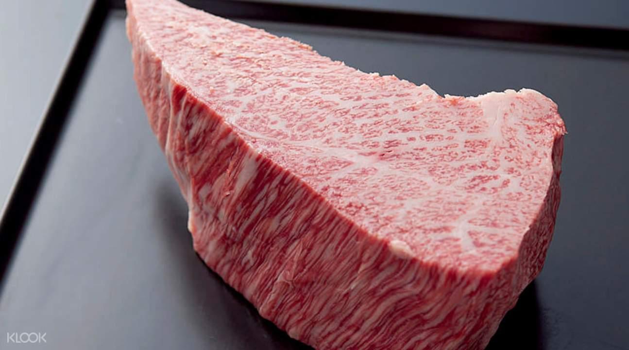 kobe beef wanomiya namba osaka japan