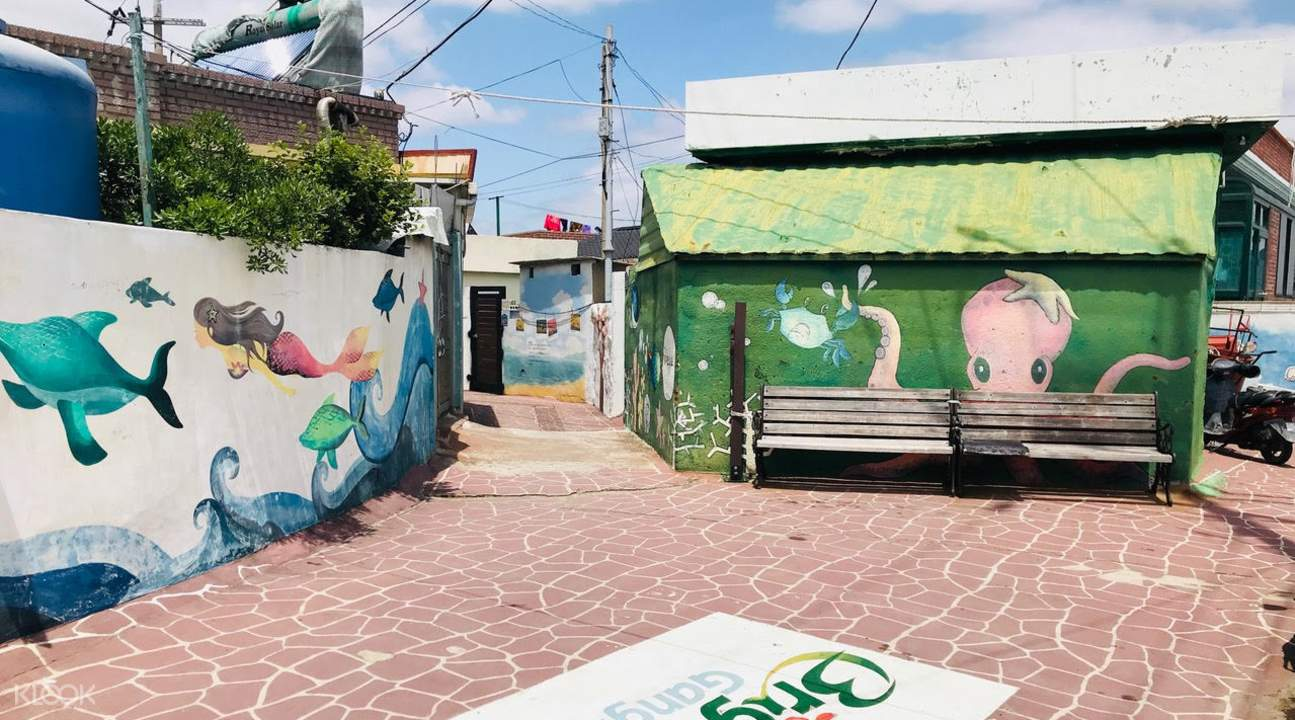 碇巨壁画文化村