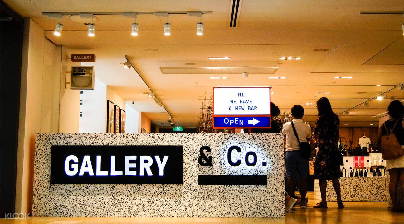 klook discount gallery and co cafe city hall singapore