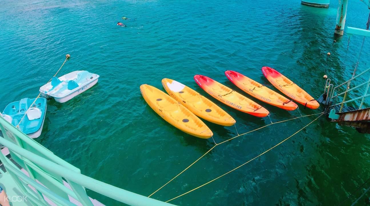 Seawalking, Snorkeling, and Canoe Experience in Guam - Klook