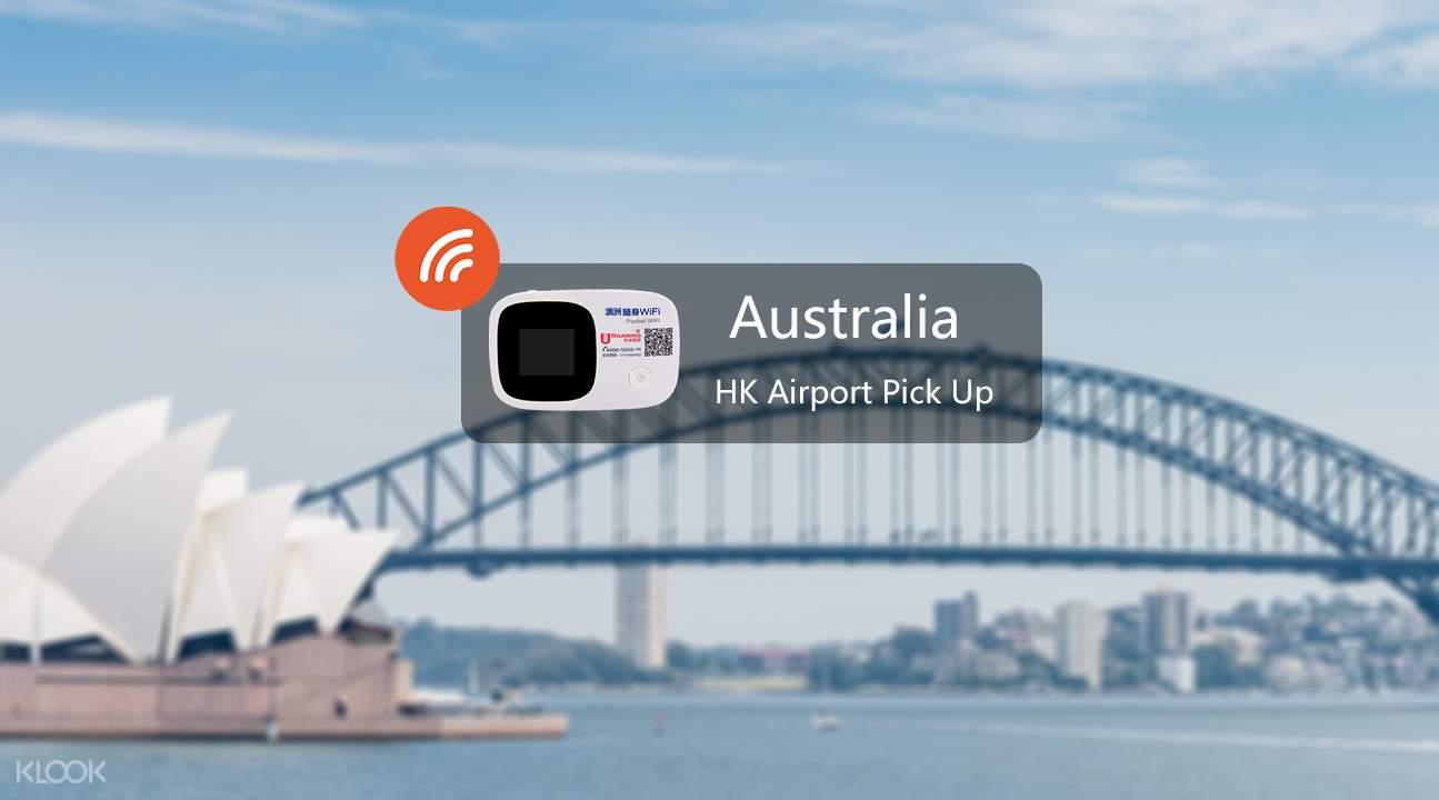 Pocket wifi device for Australia and New Zealand