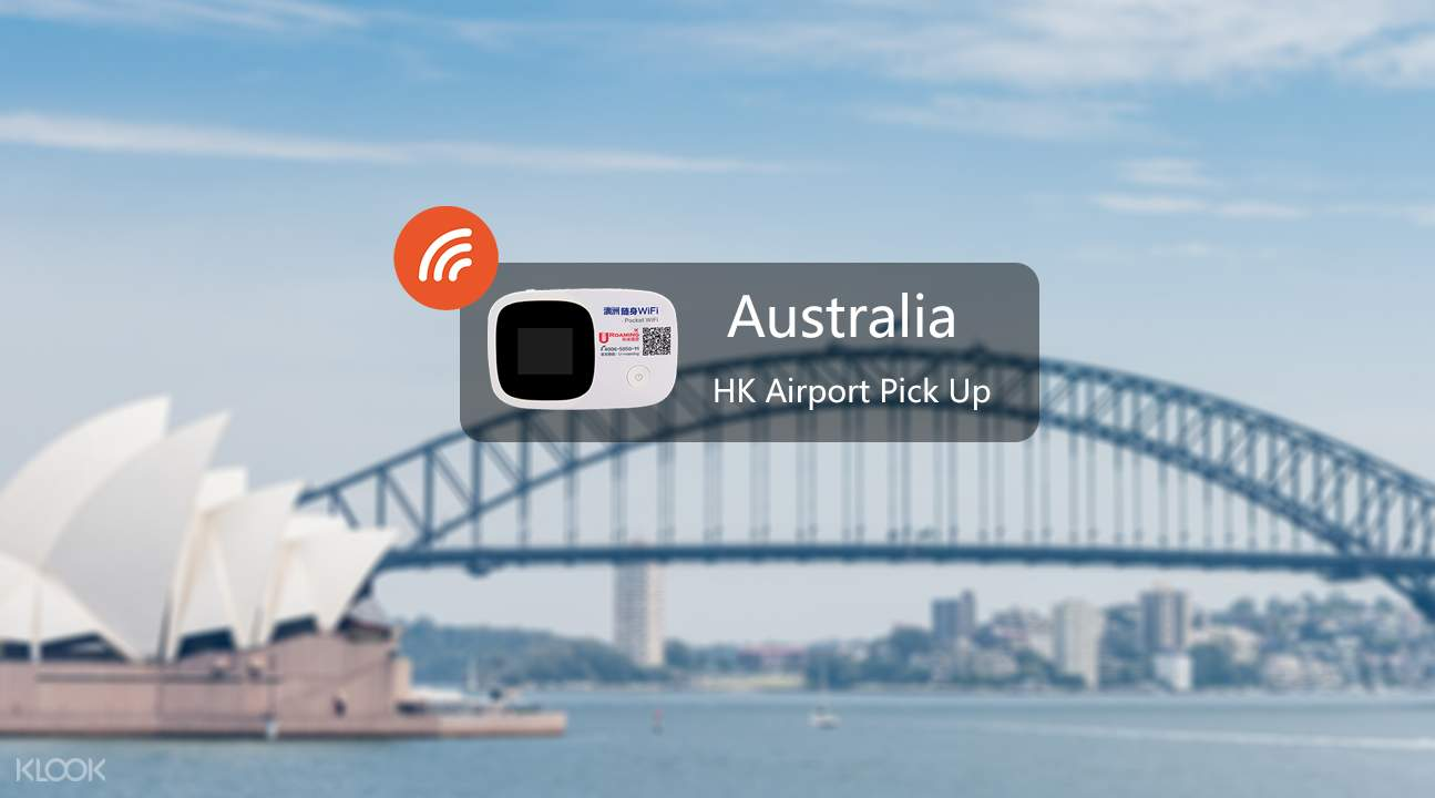 Pocket wifi device for Australia and New Zealand
