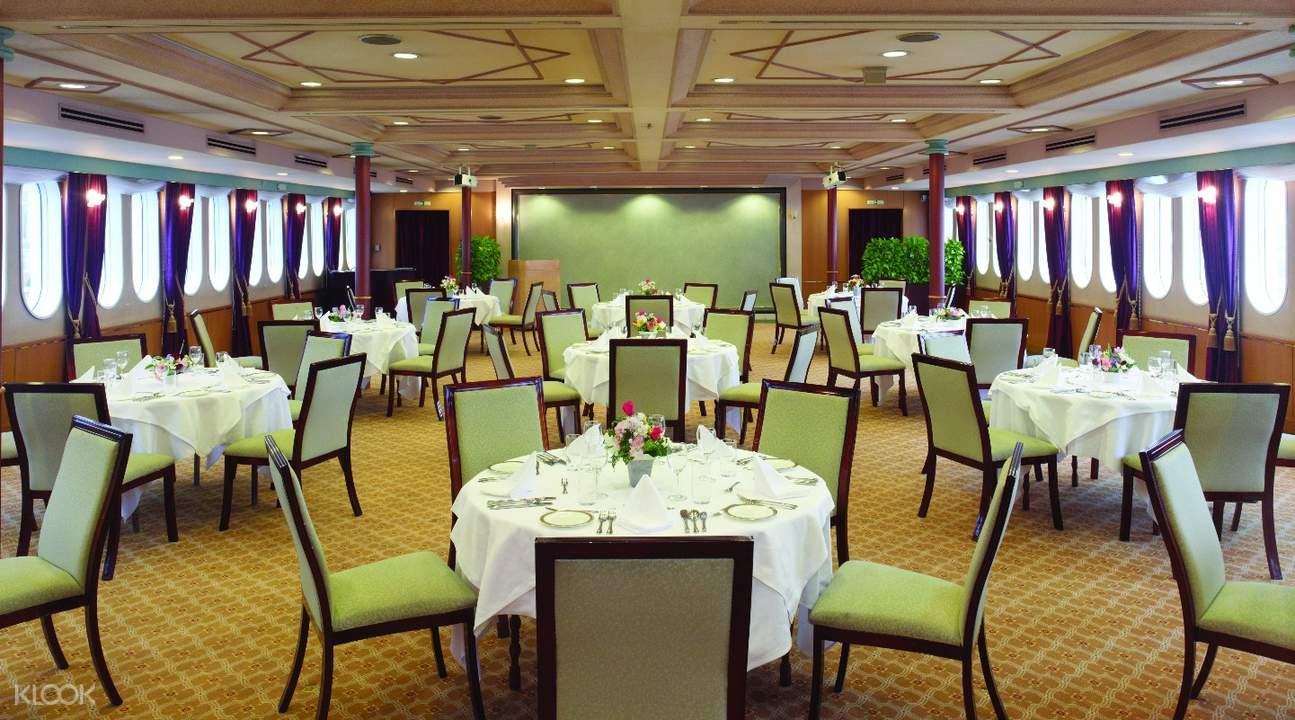 日本東京灣「交響樂」(SYMPHONY)號遊輪午餐