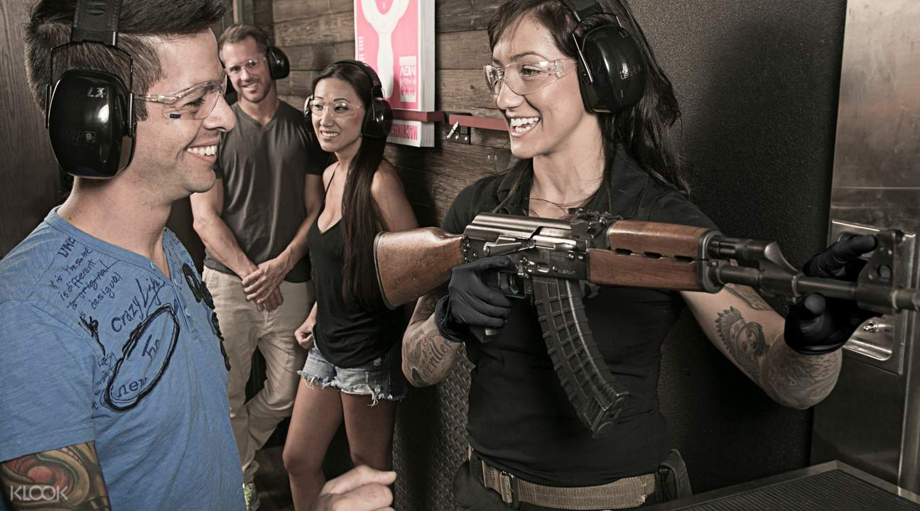 indoor shooting range las vegas