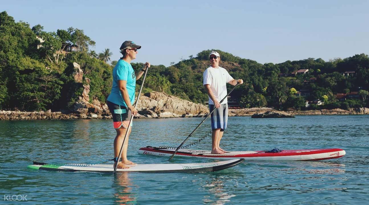 泰國蘇梅島SUP立槳衝浪體驗(日出/ 日落之旅)