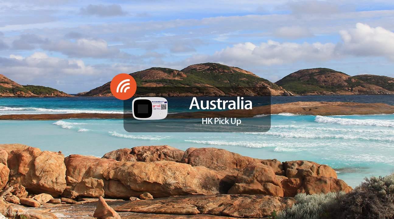 澳洲費沙島隨身WiFi