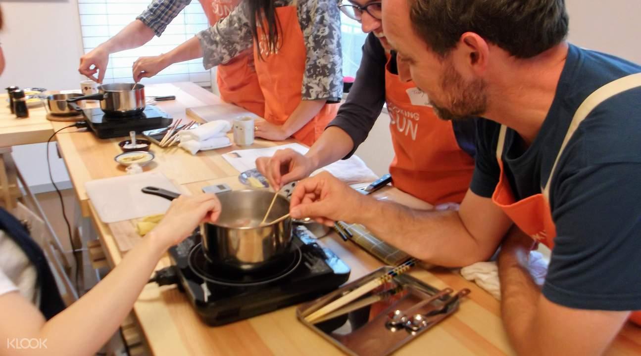 kaiseki cooking class shinjuku tokyo