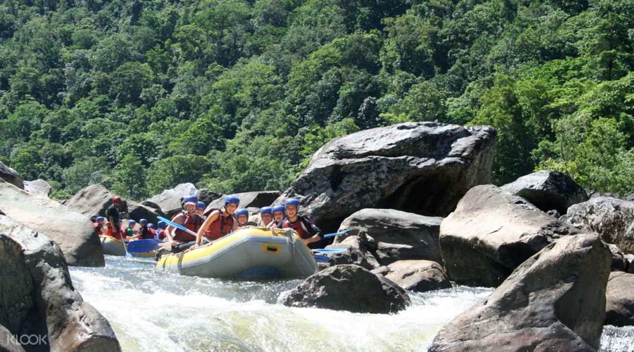 Green Island and Rafting Adventure