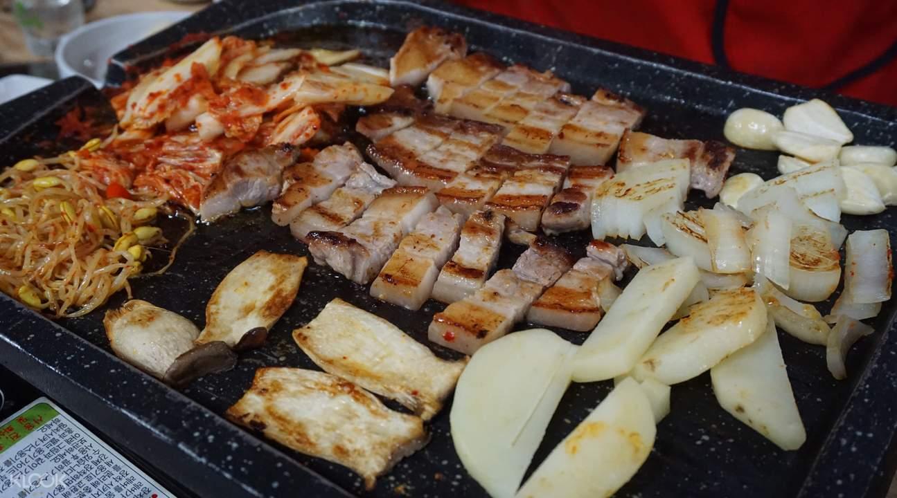 首尔 烤五花肉