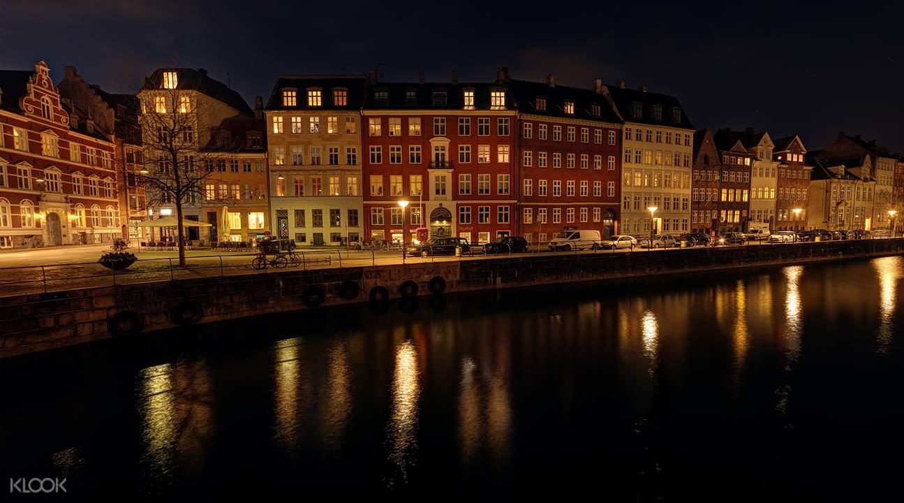 哥本哈根燈光秀
