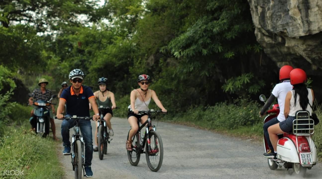 people on bike