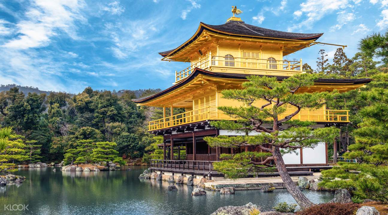 Kinkaku-ji Temple kyoto, golden pavilion kyoto