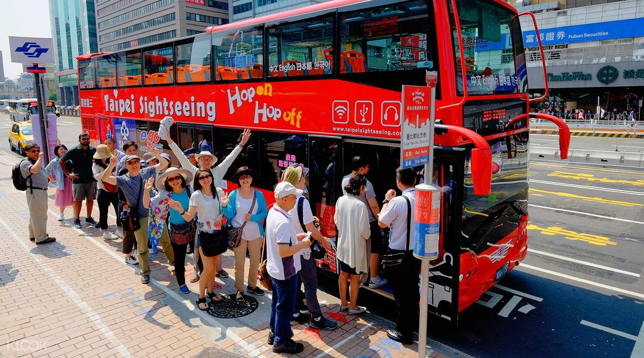 taipei double decker bus tour