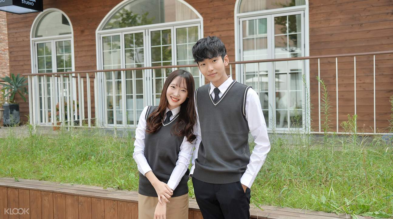 Korean school uniform rental