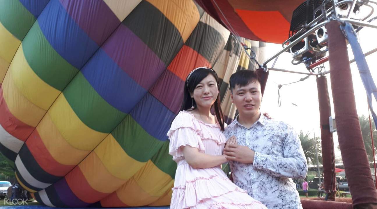 清迈 高空热气球体验