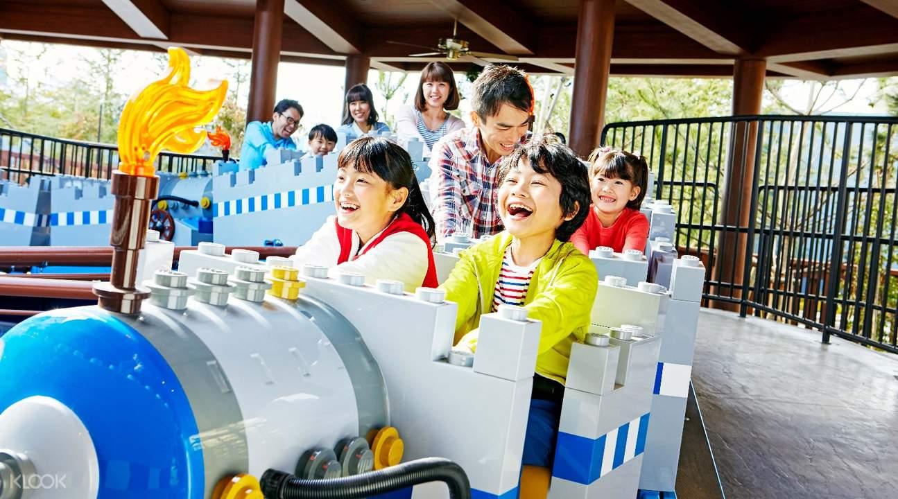 讓3歲至12歲兒童及其家人,可以盡情暢玩一整天的室外主題樂園
